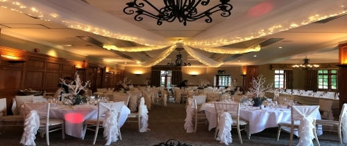 Pennyhill Park Ceiling Draping 1180 X 500