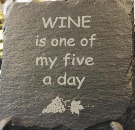 Slater Coaster Wine 1