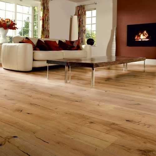 Berkeley Distressed Natural Oak 1