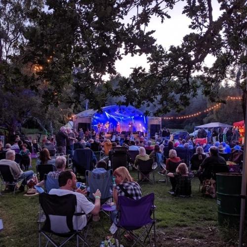 Twilight at Folk in a Field Festival