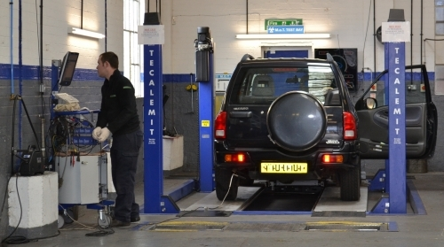 MOT Testing at Humber Autos, Coventry