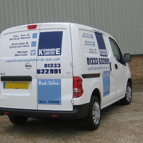 Cole Hire Self Drive Vans: Kenhire Ltd, Van Hire In ASHFORD