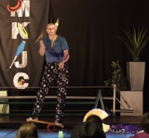Streetdance Juggling Routine - you can watch it in the Video clips section!