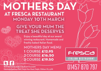 Mothers Day at Fresca