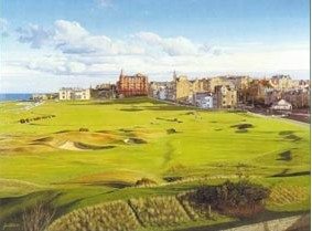 VEIW FROM THE OLD COURSE HOTEL, ST.ANDREWS