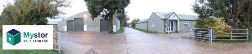 Mystor Entrace at Glebe Farm Park