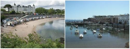Torquay Beaches, Seafront and Marina