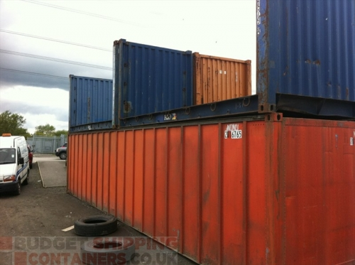 20ft Flat Rack Shipping Containers