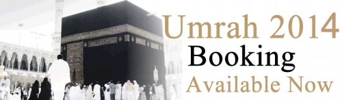 Booking Open For 2014 Umrah