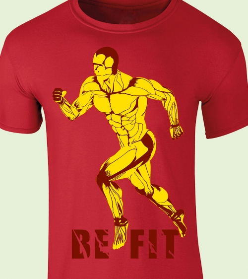 Be-Fit TShirt Red