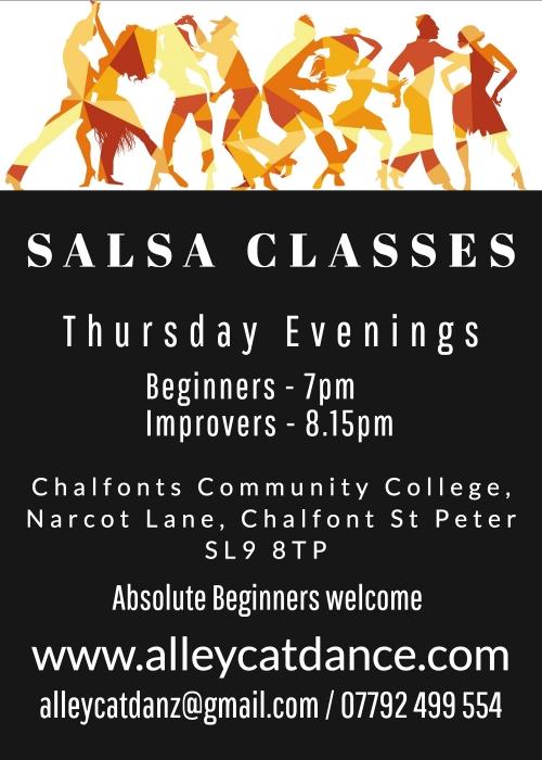 Salsa Dance Classes - Thursday Evening