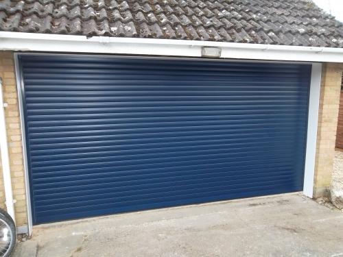 Alluguard Roller Door Installed In Woking