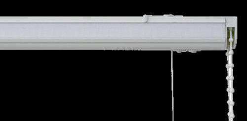 Roman blind headrails