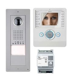 BPT Thangram Video Entry Panel with Perla Monitor
