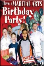 Martial Arts Birthday Parties Available Every Saturday!