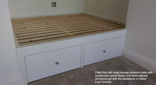 Built in Bed, Made to Measure Bed
