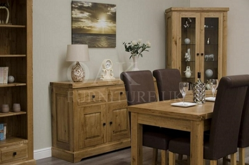 Coniston Rustic Solid Oak Dining Room Furniture