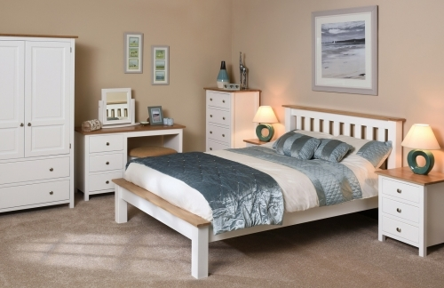 Langdale Oak And Painted Bedroom Furniture