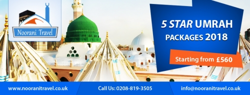 5 Star Umrah Packages 2018