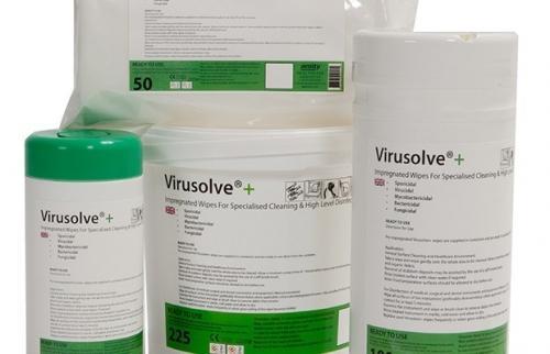 Virusolve Wipes 225