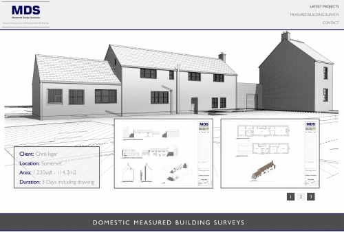 Domestic Building Survey and Drawing
