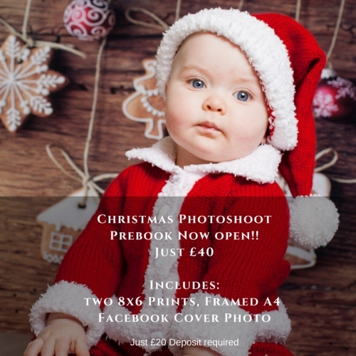Christmas Mini Session - two 8x6 Print and Framed A4