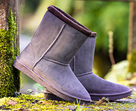 Blackfox Sheepskin Style Waterproof Snug Boots