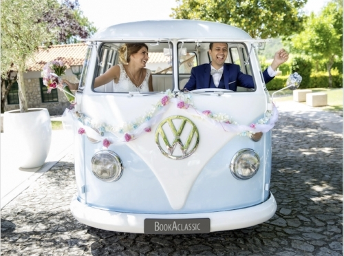 VW Campervan Wedding Car Hire