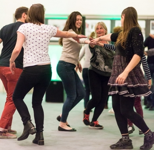 Dancing to Wraggle Taggle Oct 2015