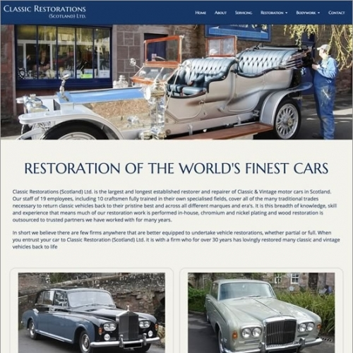 Classic Restorations Website