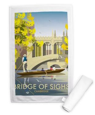Bridge of Sighs Tea Towel