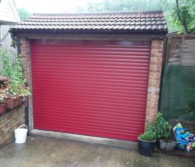 GDS Insulated Roller Door Installed In Farnham
