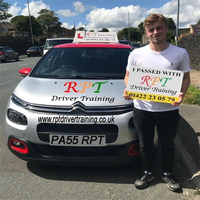 RPT Driver Training Driving Lessons Halifax William Scrimshaw
