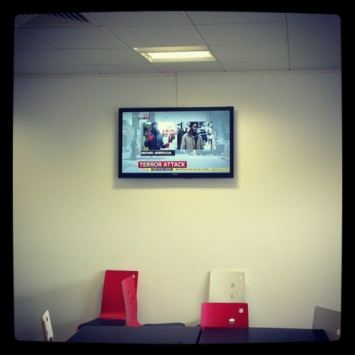Commercial TV Wall Mounting
