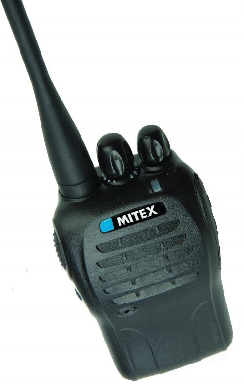 MITEX SECURITY UHF TWO WAY RADIO