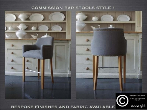 Bespoke Bar stools many variations available. www.bespokefurnituremakers.company
