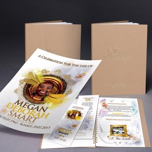 Premium Memories Order Of Service Booklet3