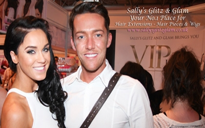 Sallys Glitz Glam with Vick Pattison Launching Vickys New Hair Range