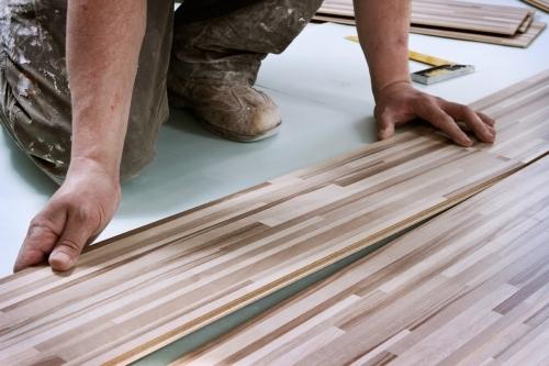 Wood Floor Installation from W8 Design Build Maintain Ltd