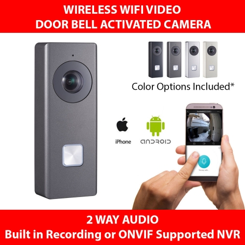 Hikvision Wi-Fi Video Doorbell