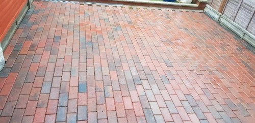 Block paving/driveway