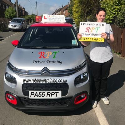RPT Driver Training Driving Lessons Halifax Emma Rayner