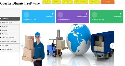 Courier Dispatch Software - http://www.ekavat.co.uk/courier-software