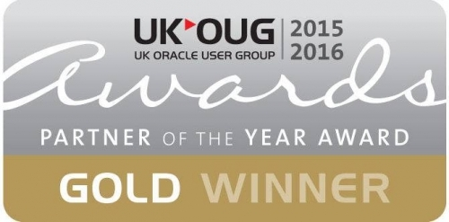 UKOUG Award 2015-16 in the Independent Services category