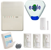 Risco Agility 2 wireless alarm package