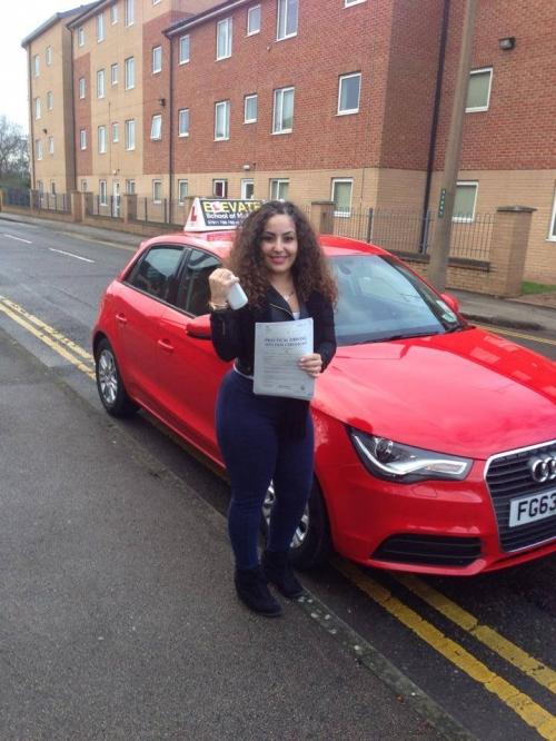 Driving lessons in Nottingham