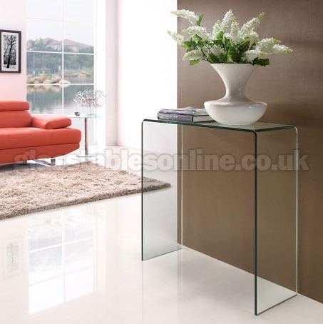 Glass Console Table Small 0127SM