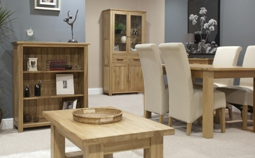 Opus Solid Oak Dining and Living Room Furniture