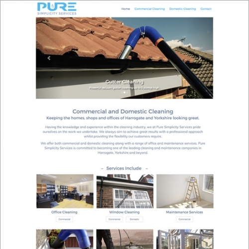 Pure Simplicity Website