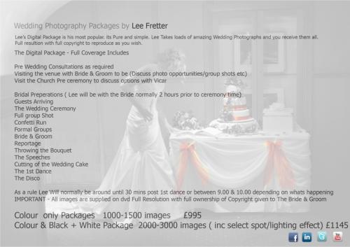 Wedding Packages - Digital